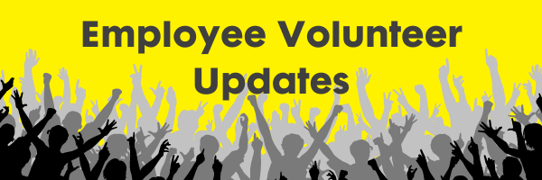 Employee volunteer updates